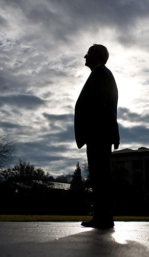 Photo of OSU President Ed Ray